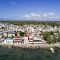 Aerial view of Lamu, Kenya.  Image © Javier Callejas
