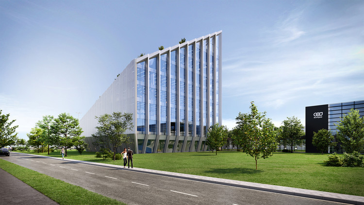 Bonfiglioli Headquarters. Image Courtesy of Peter Pichler Architecture