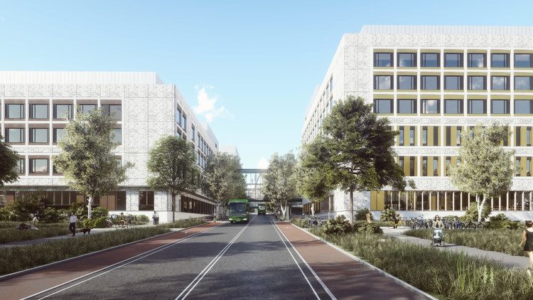 Stavanger University Hospital. Image Courtesy of Nordic Office of Architecture