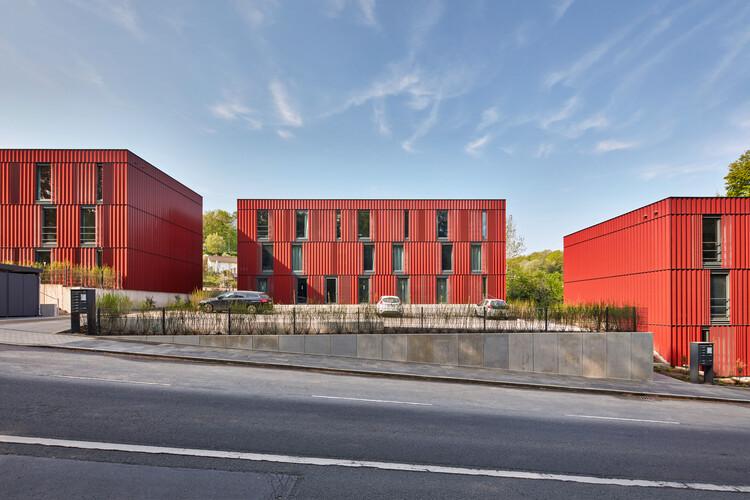 Moradia Estudantil Variowohnen Wuppertal / ACMS Architekten, © Sigurd Steinprinz