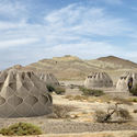 Abeer Seikaly's Structural Fabric Shelters Weave Refugees' Lives Back Together. Courtesy of Abeer Seikaly