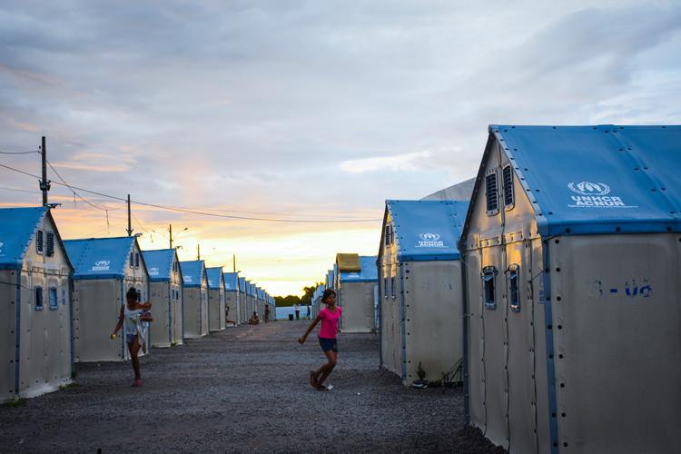 Settlement in Roraima. Courtesy of ACNUR