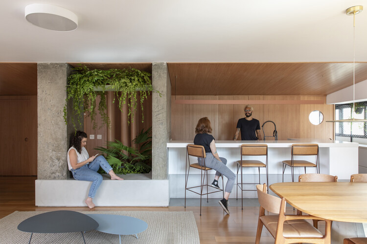 Apartamento Kaluá / Estúdio BRA Arquitetura, © Maíra Acayaba