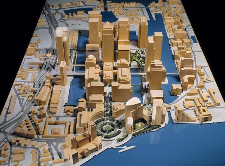 Canary Wharf Masterplan model