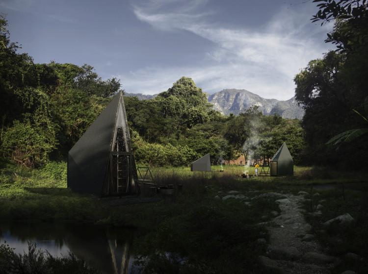 WANDER, Rojkind Arquitectos, AMASA Estudio y TUUX presentan módulos de cabañas para conectar con la naturaleza, Cortesía de Rojkind Arquitectos