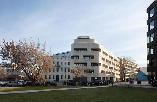 Edificio residencial NeuHouse / Gewers Pudewill