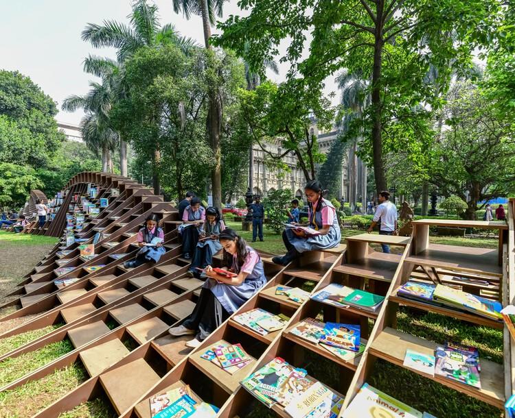 BookWorm Pavilion / Nudes, © Sameer Chawda