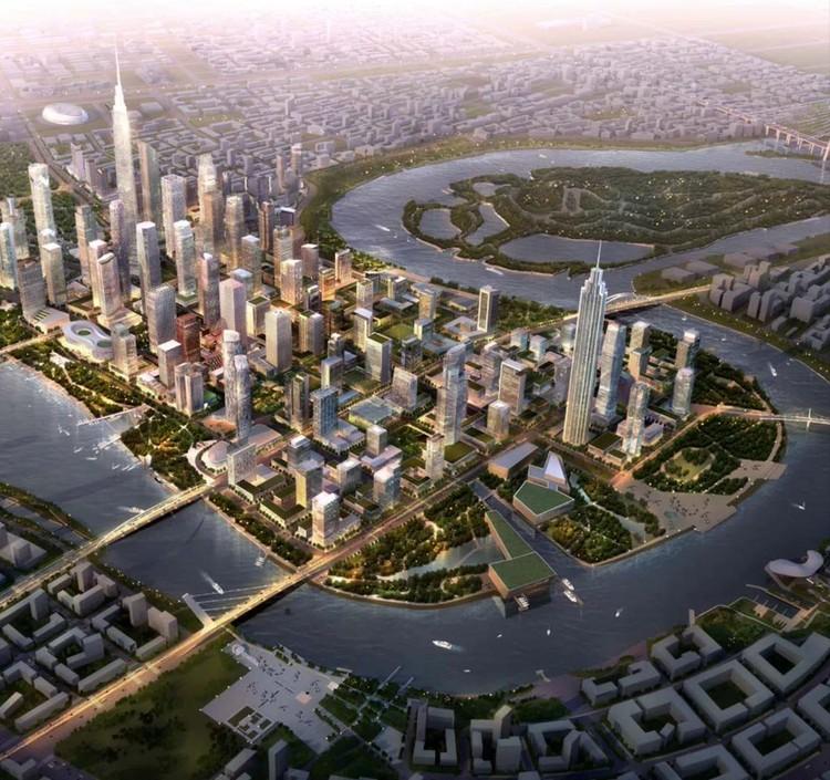Tianjin Binhai CBD Master Plan