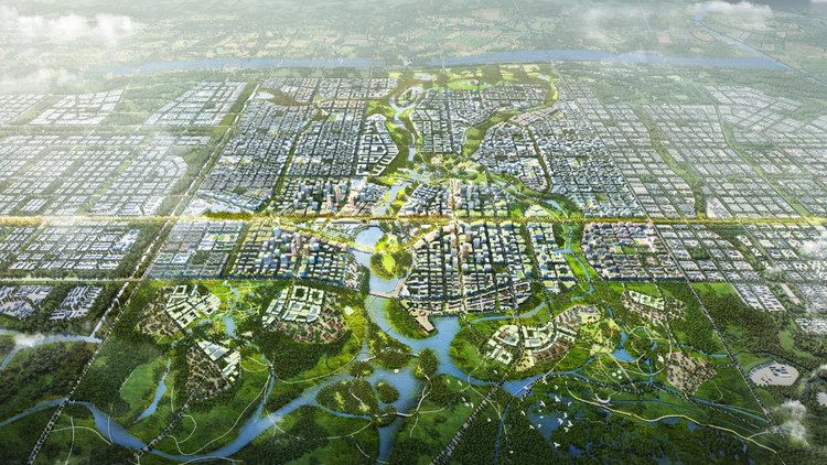 Core of Xiong'an New Area Urban Design