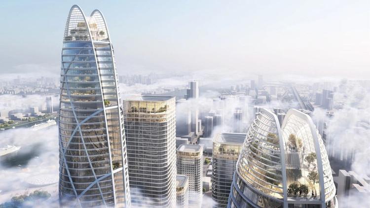 Guangzhou zhuhai Lijiao Core Area Master Plan