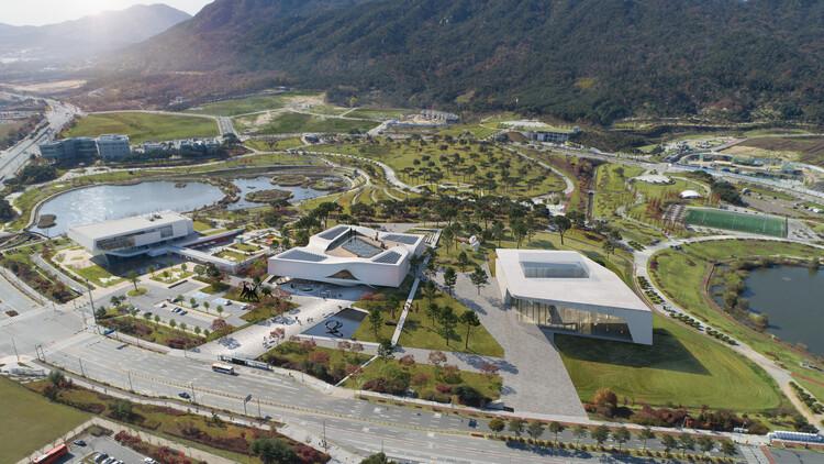 UNStudio vence concurso para o projeto do Museu de Arte Chungnam na Coreia do Sul, Cortesia de UNStudio
