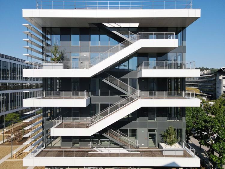 Edificio Jardín Urbano / Valode & Pistre, © Philippe Chancel