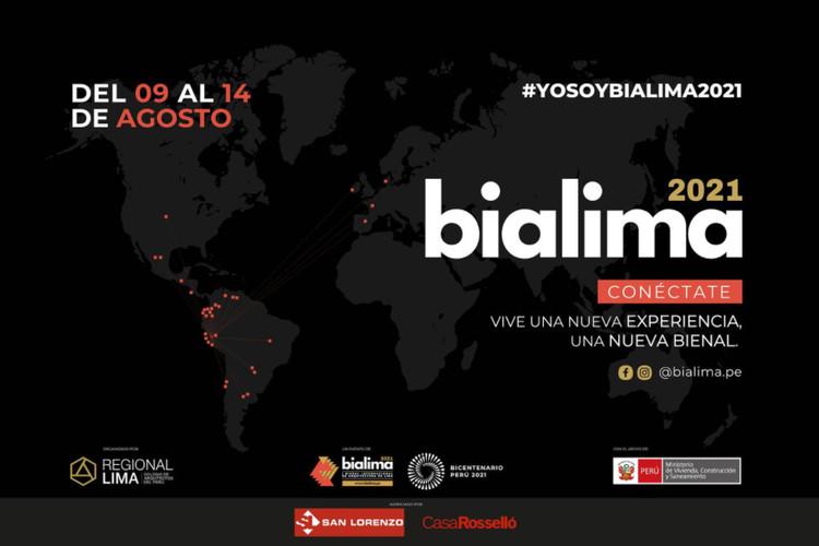 BIALIMA 2021: Bienal Internacional de Arquitectura de Lima, Cortesía de BIALIMA 2021