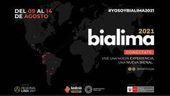 BIALIMA 2021: Bienal Internacional de Arquitectura de Lima