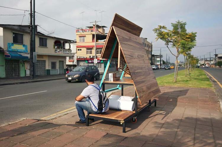 Escritório no Equador propõe abrigo móvel para sem-tetos, Cortesia de CicloVivo
