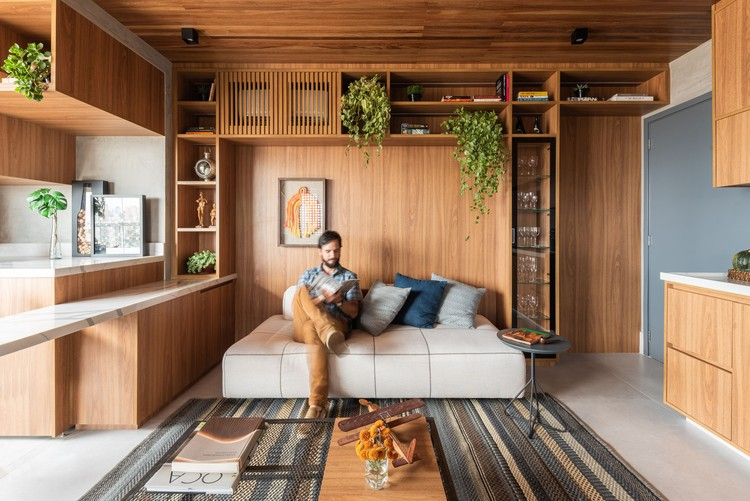 Apartamento Muxarabi / Pietro Terlizzi Arquitetura, © Guilherme Pucci