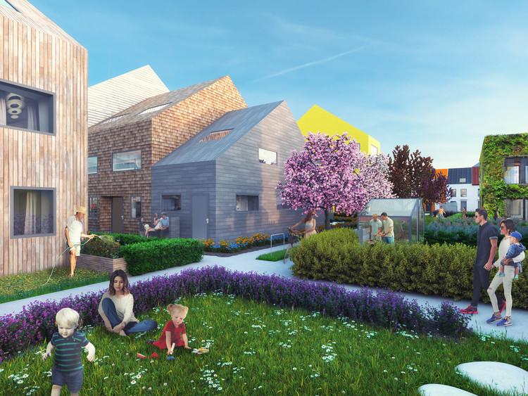 MVRDV inicia construção de bairro residencial em Mannheim, Alemanha, © MVRDV