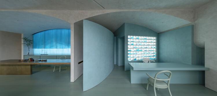 Exhibition of Frozen Time / Spa interior