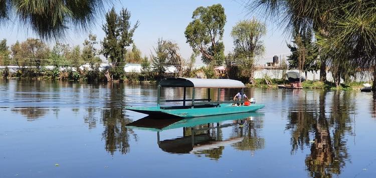 Sobre la importancia del agua y la labor de chinampas en Xochimilco, Ciudad de México, © REDES AC