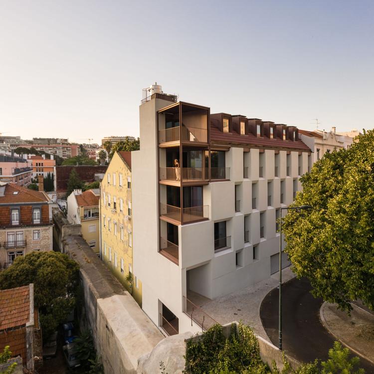 Edifício Residencial ao Aqueduto / António Costa Lima Arquitectos, © Francisco Nogueira