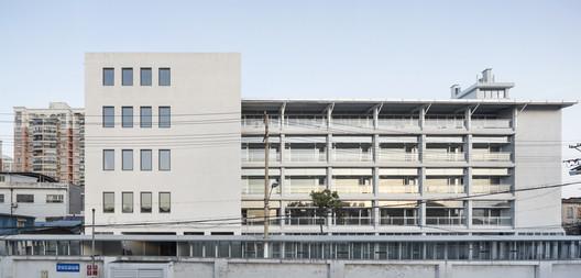 main building elevation after renovation. Image © Bowen Hou