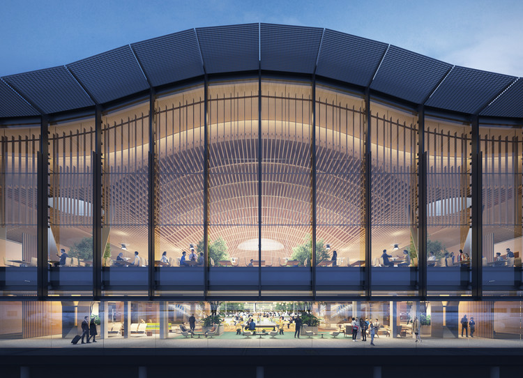 ZGF Gives a New Look at Portland International Airport's New Main Terminal, Courtesy of ZGF Architects
