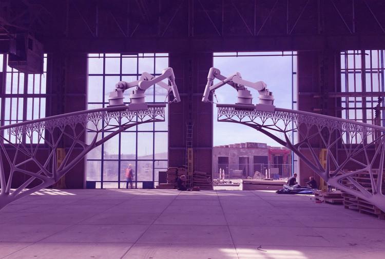 Indo na contramão: escritórios de arquitetura que estão rompendo com o status quo, - Image Edited by Matthew Maganga. Imagem © Joris Laarman for MX3D