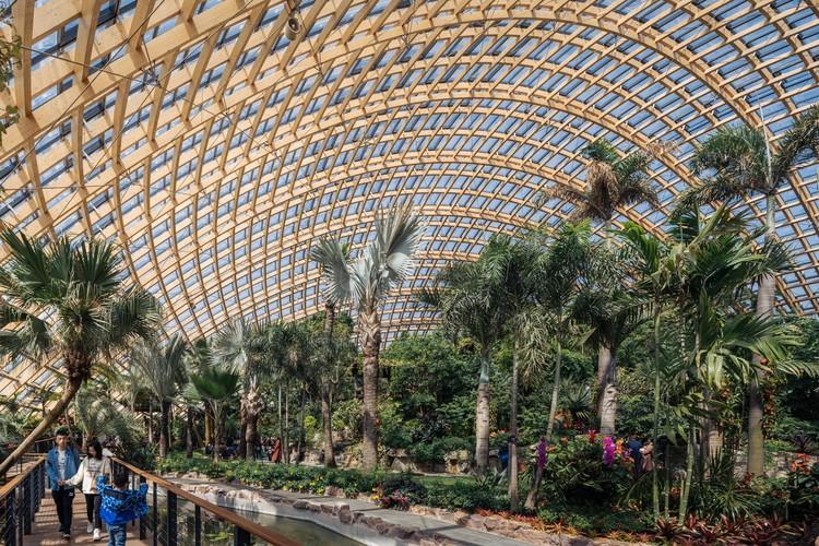 Ботанический сад Тайюань / Ассошиэйтед архитектор Делуган Мейсл.  Фото: © CreatAR