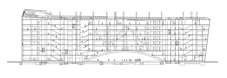 Раздел - Офисное здание Le Monde / Snøhetta + SRA Architects
