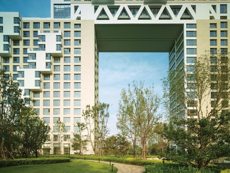 Хабитат Циньхуандао / Safdie Architects.  Фото любезно предоставлено Safdie Architects.