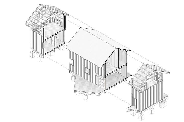 Arquitectura con Paneles SIP: Casas prefabricadas de rápida construcción y alto rendimiento, Casa El Tume / abarca+palma. Courtesy of abarca+palma
