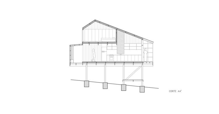 House in Alto Grande / includes + Palma.  Courtesy of Incompass + Palma
