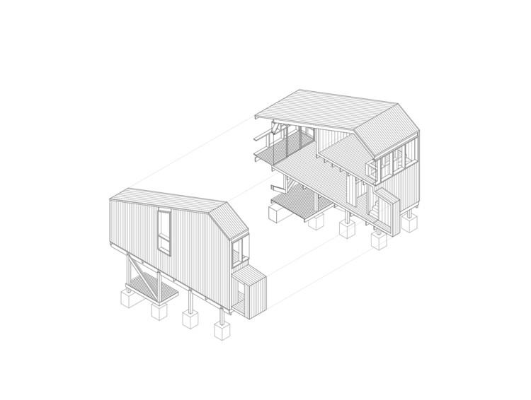House in Alto Grande / including + Palma.  Courtesy of Incompass + Palma