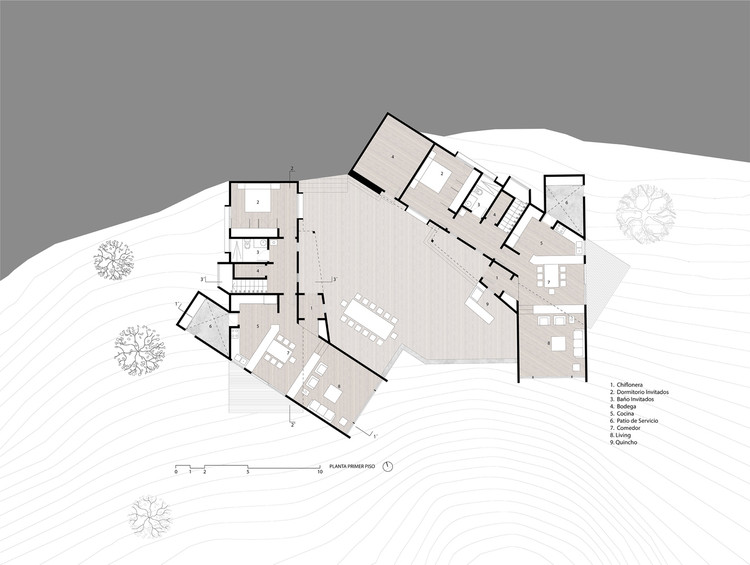 Casas Lago Colico / Benjamin Goñi Arquitectos + Claro + Westendarp Arquitectos.  Courtesy of Benjamin Goñi Architects + Clear + Westendarp Architects