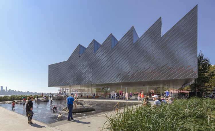 Galería de Polígono / Patkau Architects, © James Dow