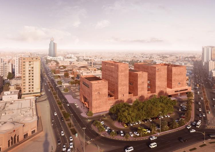 Adjaye Associates divulga projeto para o Instituto Africano em Sharjah, Emirados Árabes Unidos, © Adjaye Associates