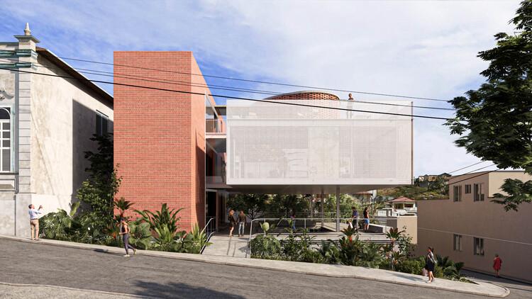 ARQLIQ arquitetura vence concurso para o Museu dos Emboabas em Caeté, Minas Gerais, Cortesia de Equipe do projeto