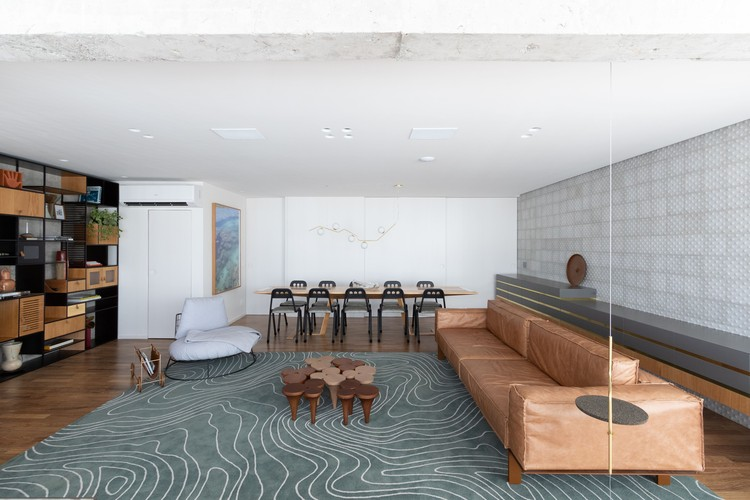 Apartamento FT / ZALC Arquitetura, © Alexandre Disaro