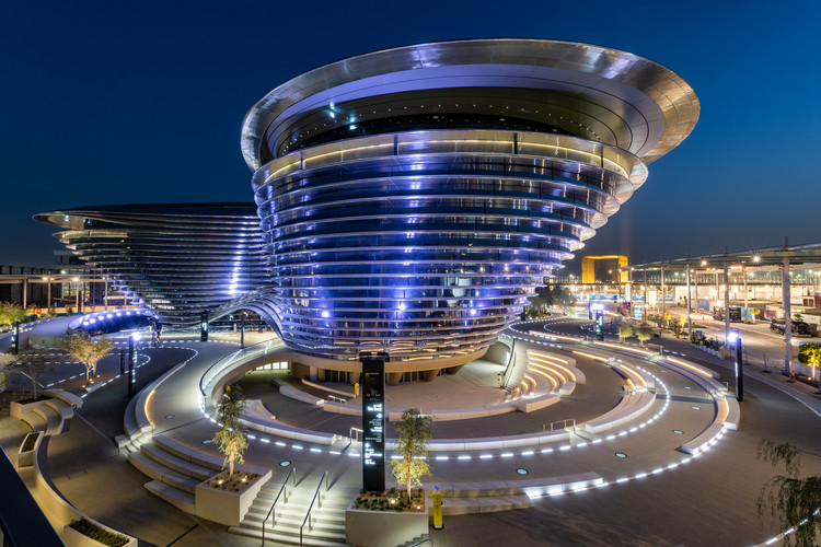 Foster + Partners Designs Monumental Mobility Pavilion at the Expo 2020 Dubai , © Expo 2020 Dubai