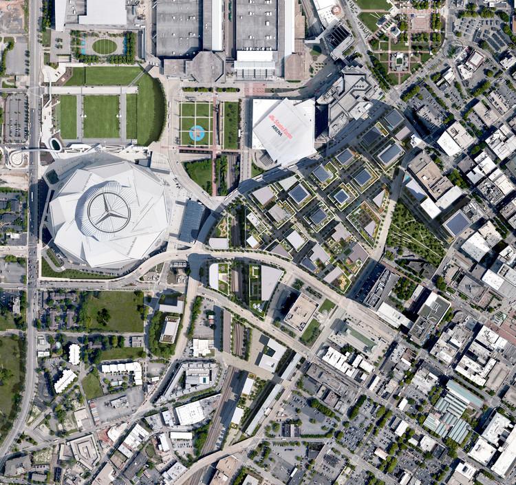 Foster + Partners apresenta plano diretor para Atlanta, EUA, © Foster + Partners