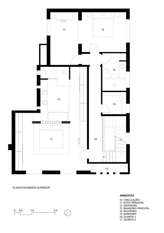 План этажа - Casa FH / Protostudio + Prototype