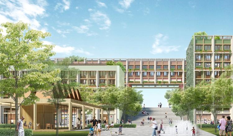 Adjaye Associates e Studio Zewde desenvolvem reurbanização de campus psiquiátrico em Nova Iorque, Cortesia de Studio Zewde