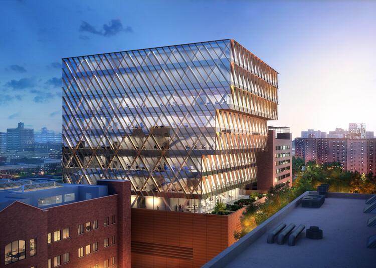 SOM diseña un nuevo laboratorio de salud pública en Nueva York, © SOM | ATCHAIN