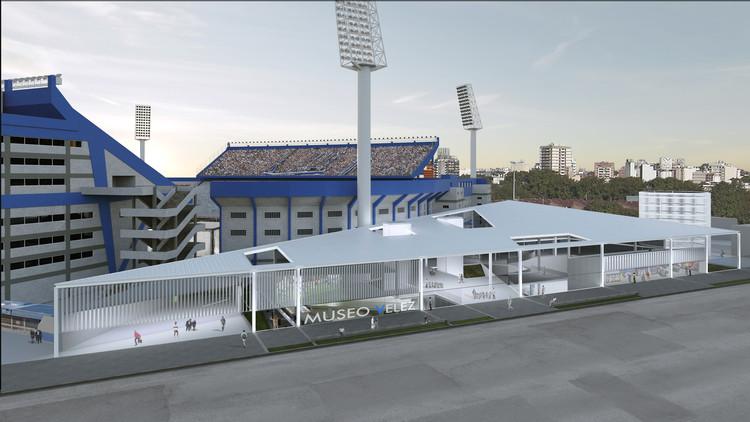 Planificar para crecer: Frazzi Arquitectos presenta el nuevo proyecto para el Club Vélez Sarsfield en Buenos Aires, Cortesía de Frazzi Arquitectos