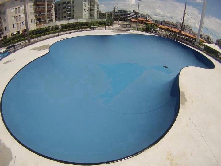Alan Mosque Skatepark/Spot.  Image © Felipe Arajo