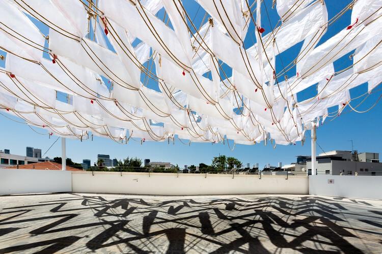 The Fifth Space Installation at Lieblinghaus / SZCZ Jakub Szczesny + Hadas Tuval, © Yael Schmidt