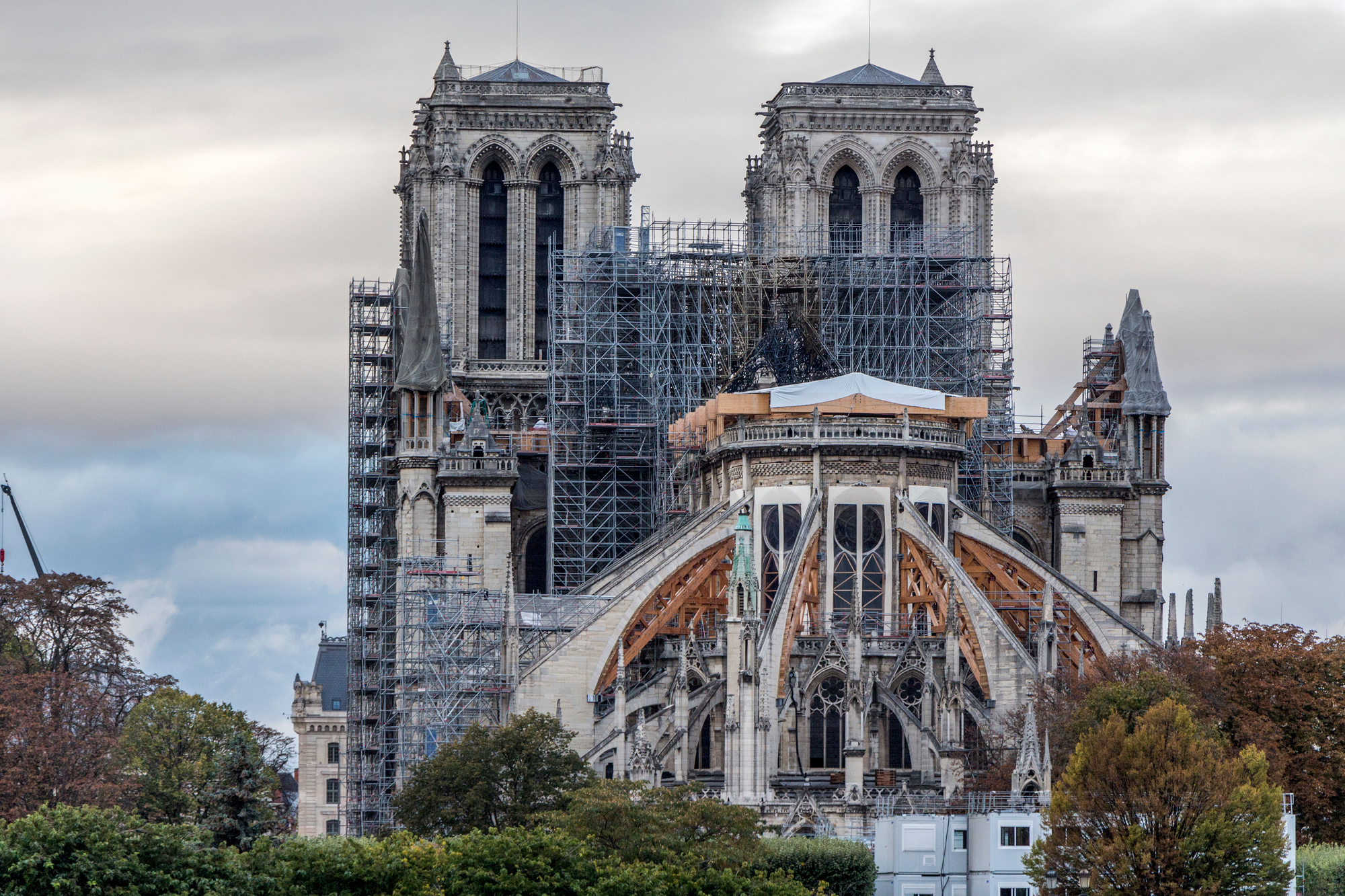 Notre Dame Update: Restoration Work Advances and US Students Rebuild One of Its Roof Trusses Using Medieval Techniques