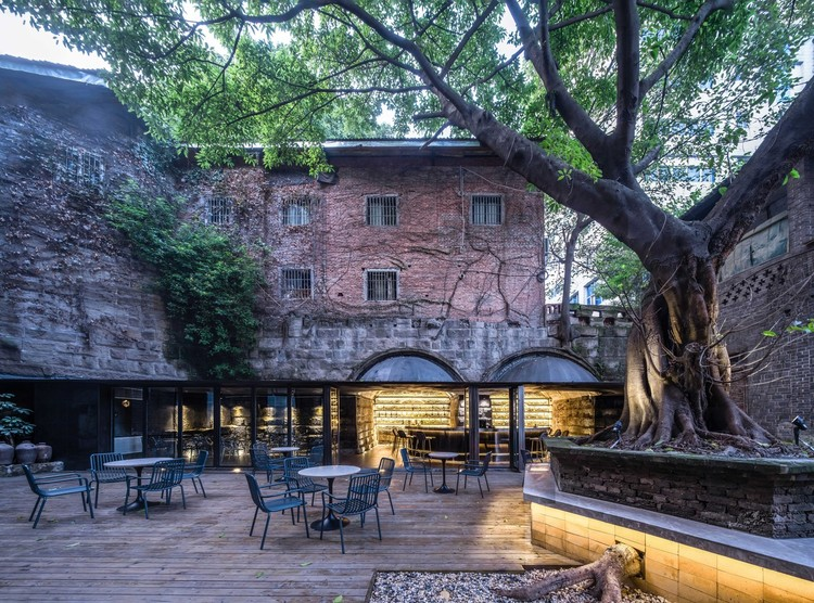 Cafes and Bars in China: Examining the Spatial Routine of Drinking, The Cave Bar / Qing Studio. Image © Yilong Zhao