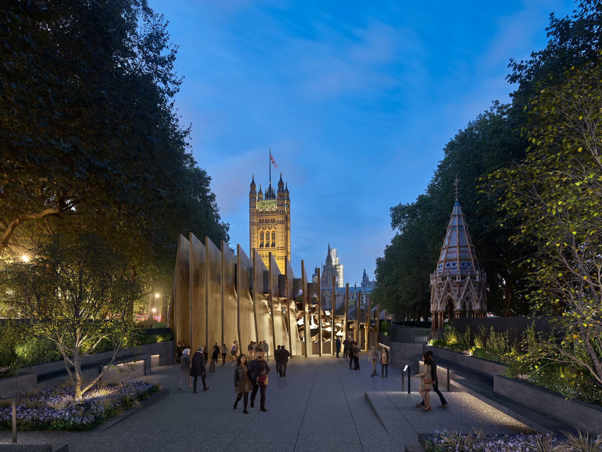 David Adjaye's Holocaust Memorial in London Receives Approval