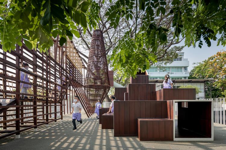 Parque infantil Thawsi / Imaginary Objects, © Ketsiree Wongwan